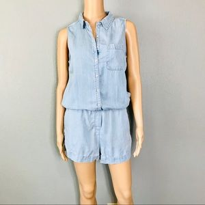 Denim very soft romper